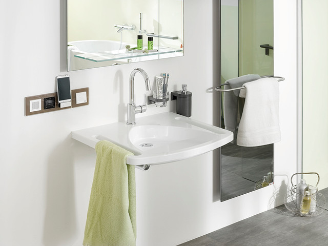 Gira Up Radio gira up radio contemporary bathroom cologne by gira