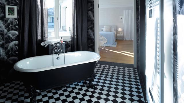 Gorki Apartments Berlin - Modern - Badezimmer - Berlin - von Studio ...