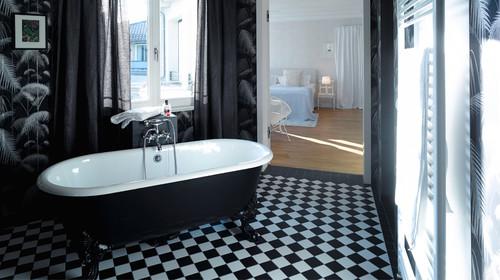 Wie praktisch sind eigentlich ... Vorhänge im Bad?