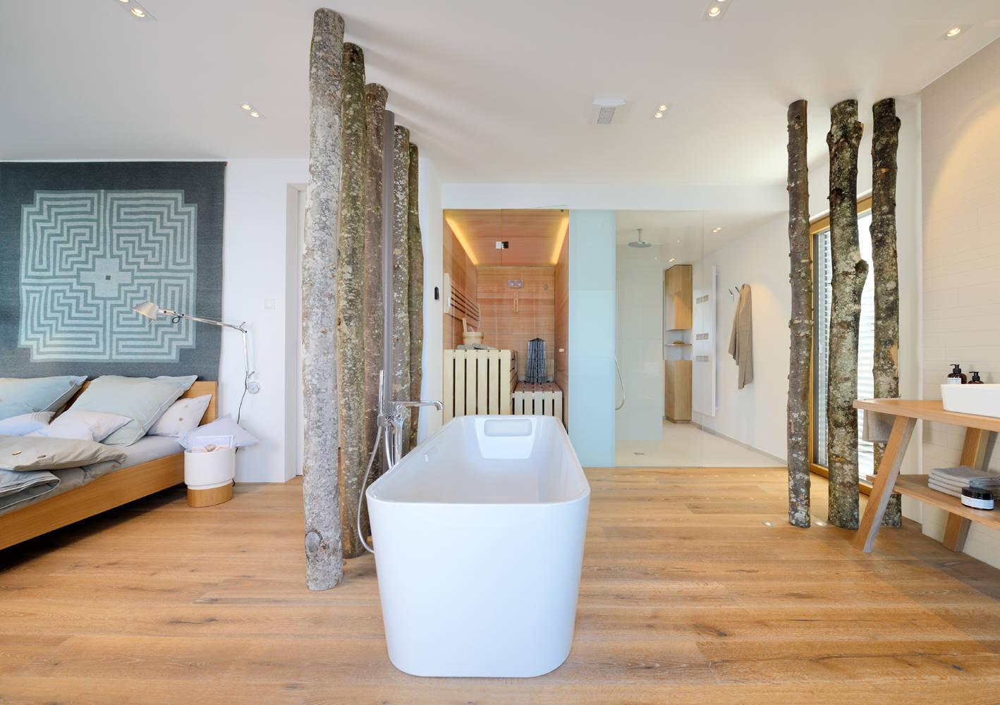 Sinnvoll separiert 20 Ideen für Trennwände im Bad
