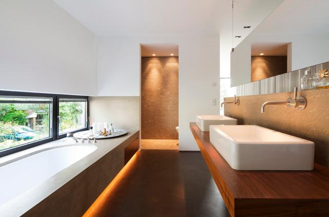 Haus b moderno stanza da bagno bonn di sonja - Stanze da bagno moderne ...
