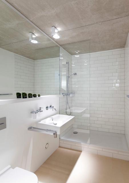 Haus G . München, Silberhaus - Modern - Badezimmer - München - von ...