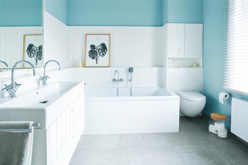 Von weiß zu wow: Schnelle Ideen für Ihr Badezimmer-Makeover