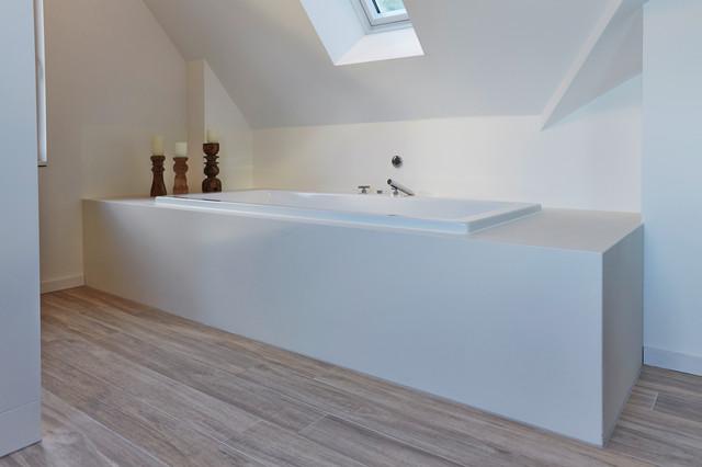 Bad Fußboden Ohne Fliesen ~ Fugenloses bad ideen für grenzenlose schönheit