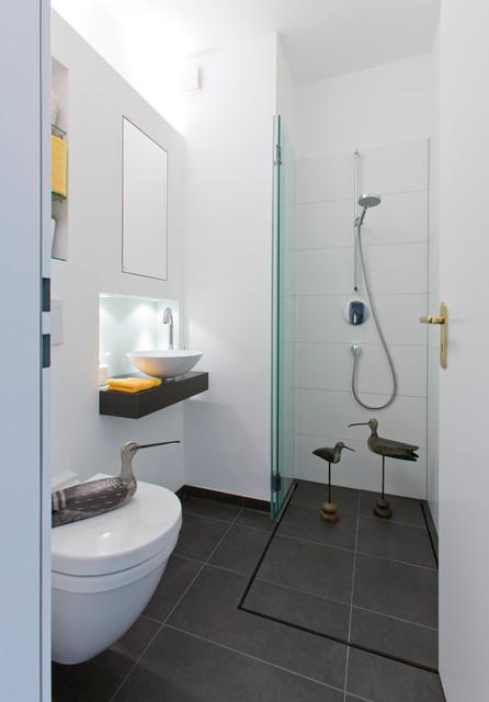 Ideen für kleine Bäder/ Gäste WC mit Dusche