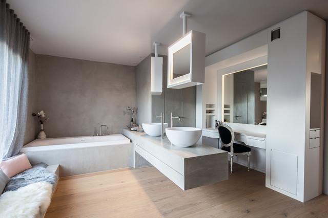 Interiorsdesign Villa S - Modern - Badezimmer - München ...