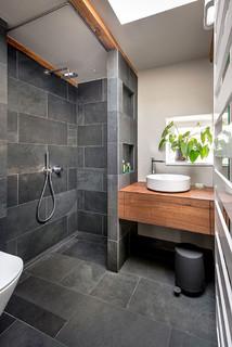 Badezimmer Mit Schieferfliesen Ideen Design Bilder Houzz