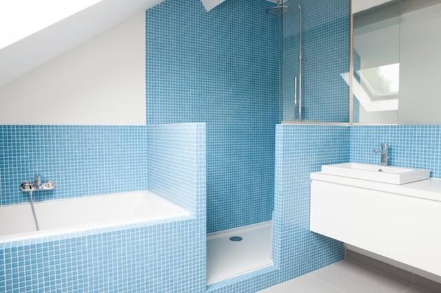 La Hulpe modern-badezimmer