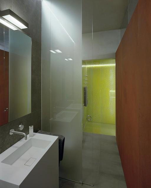 Loft for Badezimmer industriedesign
