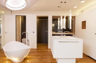 loft bad modern badezimmer stuttgart von echt zwinz raum und m bel. Black Bedroom Furniture Sets. Home Design Ideas