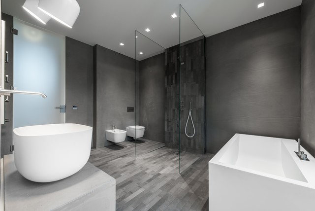 Referenzen Modern Bathroom