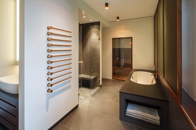 Masterbad modern contemporary bathroom