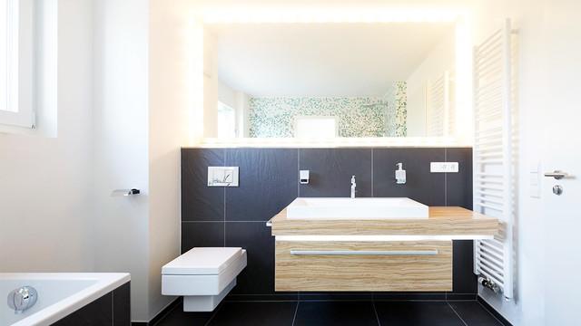 Mehrfamilienh user modern badezimmer stuttgart von - Badezimmer stuttgart ...