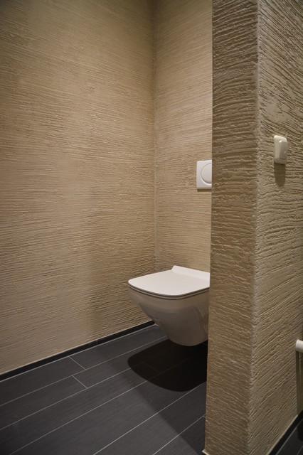 Mineralischer Putz Shabby Chic Style Badezimmer