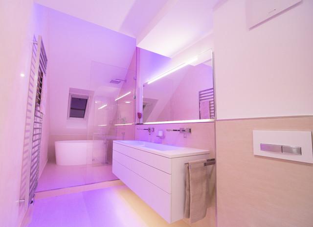 bad - wellness - umbau / münchen - modern - badezimmer - münchen
