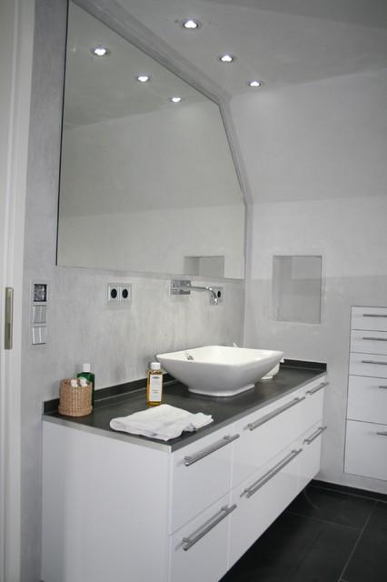 Moderne Badgestaltung Minimalistisch Badezimmer Koln
