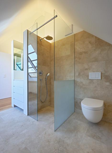 moderner individueller dachausbau und sanierung einer villa in berlin modern badezimmer. Black Bedroom Furniture Sets. Home Design Ideas