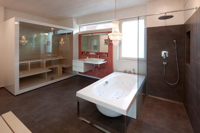 Modernes Wohnhaus mit offenem Grundriss - Modern ...