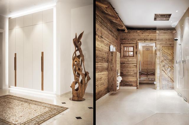 Naturstein Dusche natural stone - Modern - Badezimmer ...