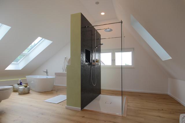 Neubau Einfamilienhaus 2 Modern Badezimmer