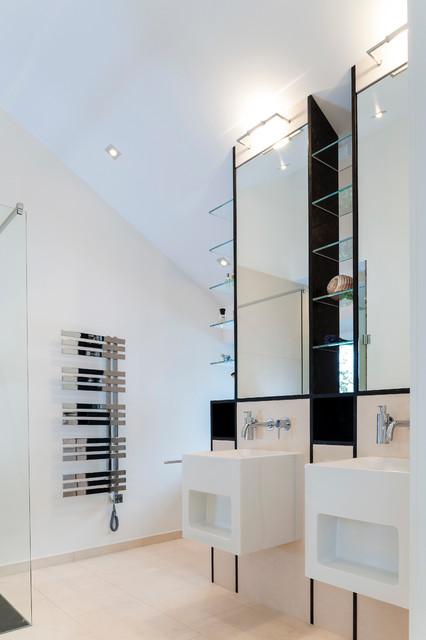 neubau einfamilienhaus - modern - badezimmer - hannover - von