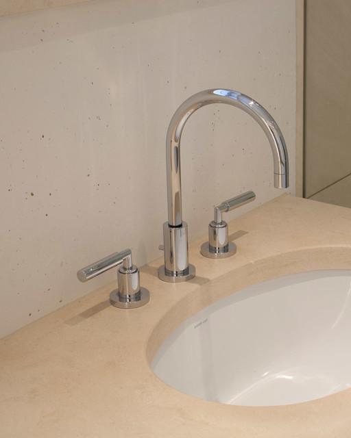 Marmorputz Bad ökologischer marmorputz in hellem bad classique salle de bain