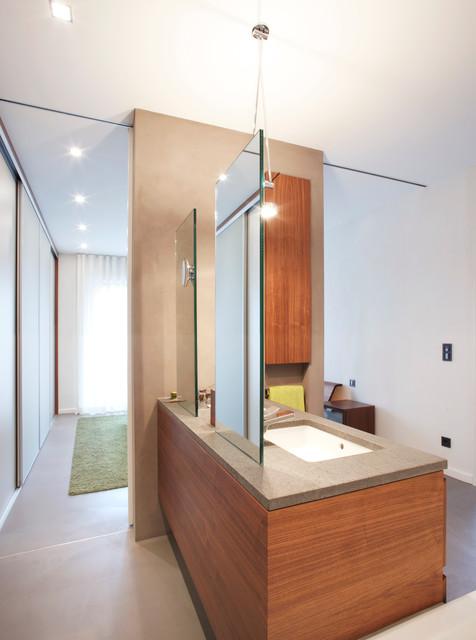 Penthouse Bad - Schlafzimmer - Modern - Badezimmer - Essen ...