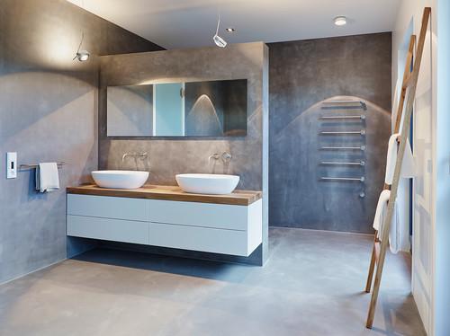 wer hat erfahrungen mit wohnbeton beton floor gemacht. Black Bedroom Furniture Sets. Home Design Ideas
