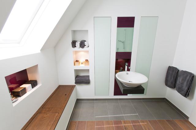 privatbad in m nster modern badezimmer other metro. Black Bedroom Furniture Sets. Home Design Ideas