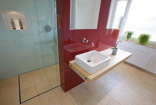 Fußboden Im Badezimmer Alternativen Zu Fliesen ~ Welches material passt in mein bad beton fliesen oder holz