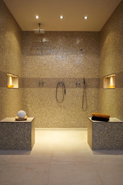 Hamam München privater wellnessbereich mit pool hamam modern