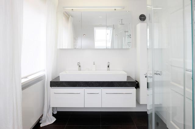 Privates Bad - hell, platzsparend & clever modern-badezimmer