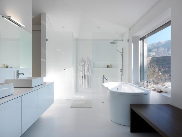 Residential building design 21 switzerland modern - Badezimmer stuttgart ...