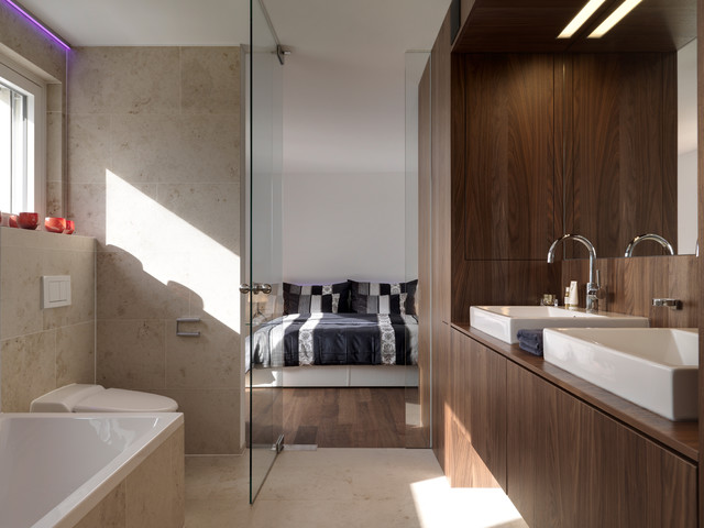 Residential building | HERMANN BOSS | Liechtenstein - Bathroom ...
