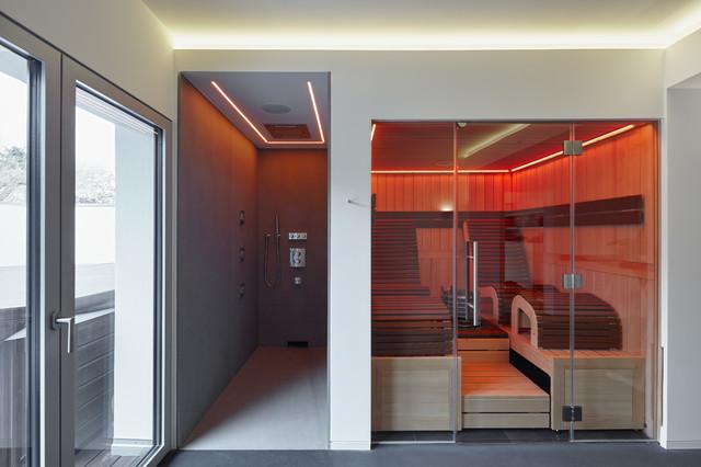 SAUNA I DUSCHE - Modern - Badezimmer - Köln - von Benjamin ...