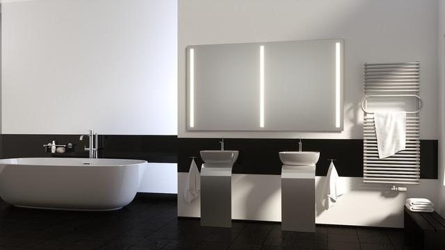 Schreiber badspiegel   modern   badezimmer   hannover   von ...