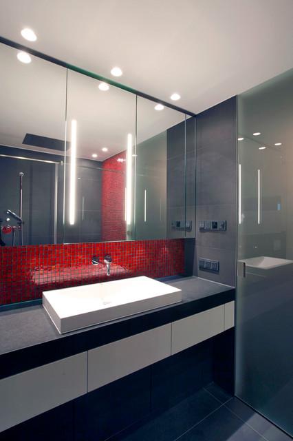 Sein Am Rhein 2 Minimalistisch Badezimmer