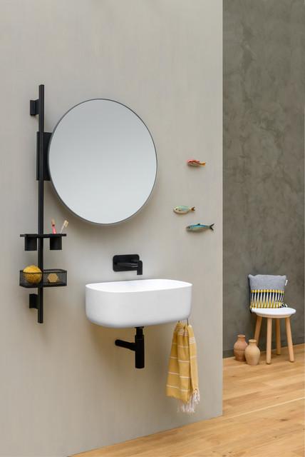 Badmöbel Düsseldorf smarte badmöbel und accessoires minimalistisch