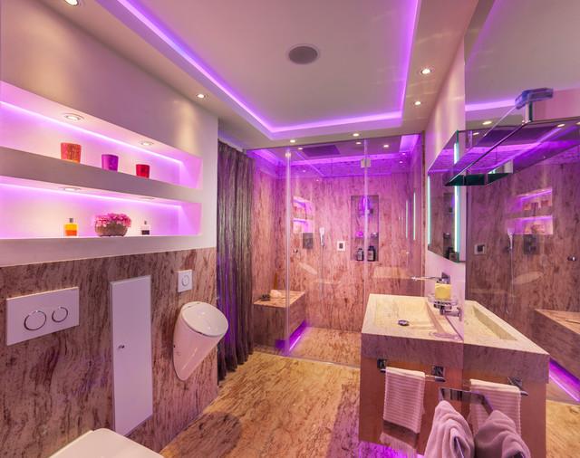 Spa Und Raumdesign Mit Smart Home Modern Bathroom