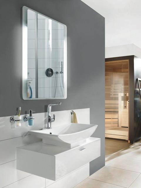 Spiegel mit Ambientebeleuchtung - Modern - Badezimmer - Hannover ...