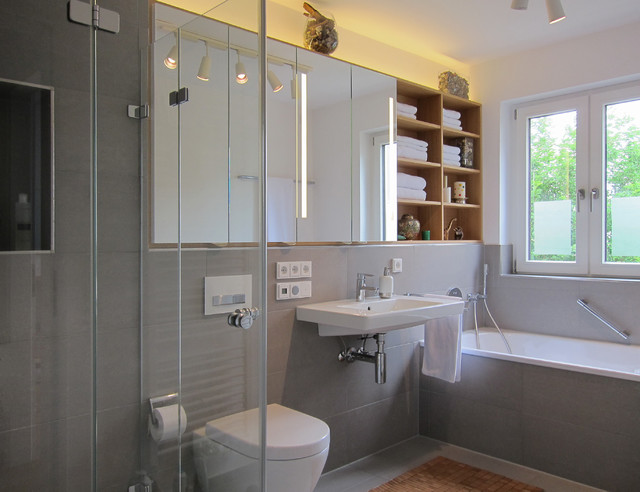 Spiegelschrank Mit Regal Modern Badezimmer Koln Von