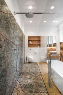 Gut bekannt Badezimmer mit grünen Fliesen Ideen, Design & Bilder | Houzz XC74