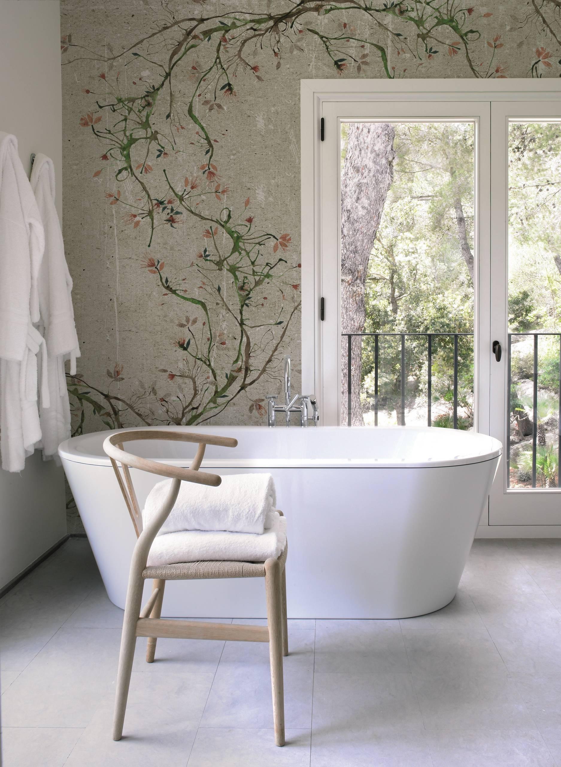 Tapeten von Wall&Deco, auch wasserfest für in die Dusche   Asian ...
