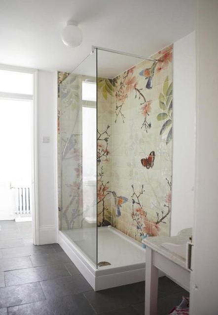 tapeten wall deco auch wasserfest für in die dusche modern