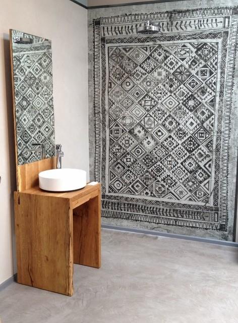 Tapeten von Wall&Deco, auch wasserfest für in die Dusche ...
