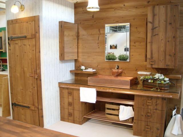 Thermoholz badezimmer rustikal badezimmer stuttgart - Badezimmer stuttgart ...