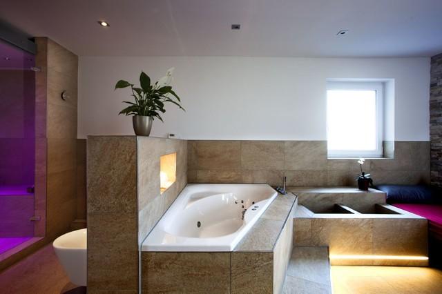 Traum Erfüllt U2013 Wellnessoase Im Eigenen Badezimmer Modern Badezimmer