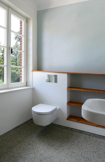 Umbau und modernisierung einer villa in hamburg volksdorf for Badezimmer design hamburg