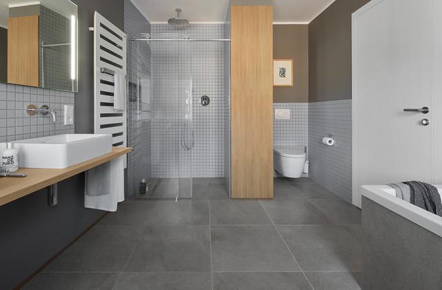 Umbau und Modernisierung von Altbau in Bonn - Modern - Badezimmer - Bonn