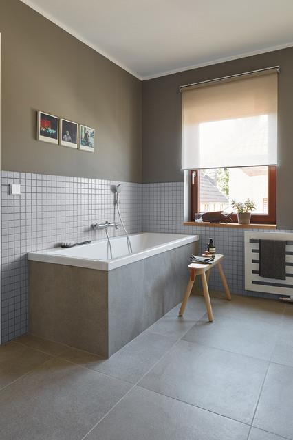 Umbau und modernisierung von altbau in bonn minimalistisch badezimmer